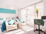 Buenos Aires - Light Blue Studio - Bedroom