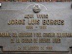 Buenos Aires - Borges Place - Jorge Luis Borges