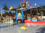 Splash Zone - interactive water play area