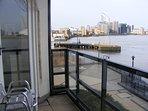 Balcony with doors into Double Bedroom & Lounge