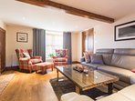 Lounge with seating for 10 people, Freeview Plasma TV and DVD player