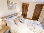 Fraser king size bedroom on first floor with en suite shower room
