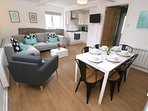 Croyde Holiday Cottages Sea Lodge Living Area