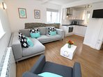 Croyde Holiday Cottages Sea Lodge Open Plan Living