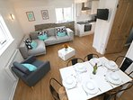 Croyde Holiday Cottages Sea Lodge Living Room