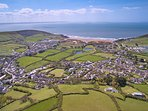 Croyde Holiday Cottages Sea Lodge Aerial