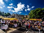 Holmfirth Food and Drink Festival, very popular and held every year at the end of September