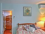This vacation rental apartment includes 4 bedrooms and 2 bathrooms.