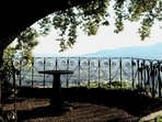 One of many panoramic lookout views of Lucca countryside and vineyards