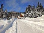 Chalet Aksotha en hiver