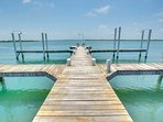 Private Dock for fishing, swimming, boating