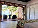 Enjoy two beautiful beach view rooms