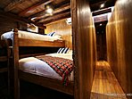 Double & single bed cabin room