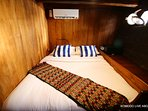 Double bed cabin room