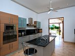 Fully Equipped Kitchen with all crockery and utensils, Cook/Housekeeper included