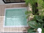 refreshing plunge pool
