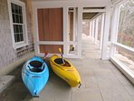 Enjoy 2 Kayaks included with the home! (you can leave down on the stand at the waters edge during your stay but please...