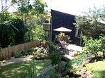 Garden and sun deck