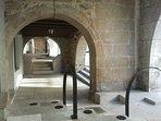 Soportales medievales Noia