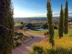 Benamor golf course, 5 minutes drive, 20 minutes walk.