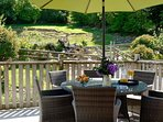 The terrace at Cowslip