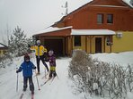 Cross-country Skiing just close to Villa