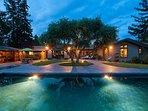 Luxury 1 Level, 3,400 Sq. Ft., Pool, 4 Bedroom, 3.75 Bath, Pool, Pool Hse, Patio