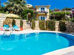 Lovely seaside Villa Mimosa, breathtaking view!