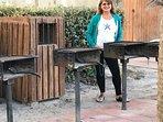Onsite barbecue & picnic area