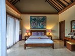 Purple Orchid Room bed