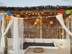 Rooftop Guest Birthday Decorations