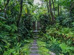 The entrance to Heaven in Bali's magical garden