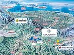 Minutes away from 3 ski resorts