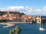 Collioure taken from Faubourg windmill