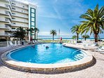 One of the three heated, fresh water pools located near the beach for your enjoyment.