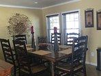 Nice spacious dining area seats 6.