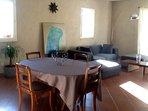 Salon et coin salle à manger  (38 m2)