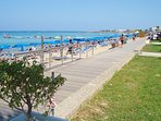 Protaras Beach and Protaras Pedestrian - 250meters from Villa