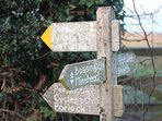 Fabulous walks to Exmoor and the coast from the cottage door