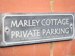 Private parking a real bonus in Porlock Village centre