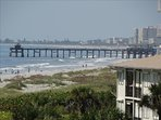 WALK along the beach to the COCOA BEACH PIER! You are Just NORTH of the Pier, this picture taken from your PRIVATE ...