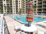 You have full use of the pool at Canaveral Beach 402 - at no extra cost or resort fee!
