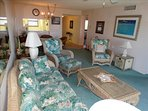 Notice the comfortable seating in your Canaveral Beach 402!