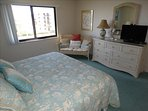 Master KING Bedroom features LARGE Flat Screen HDTV and Cable!