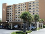 Your Beach stay is complete with COVERED, DEDICATED PARKING, and this BEAUTIFUL Building!
