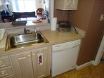 Dishwasher and all appliances are already in place and waiting for you!