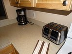 EVERY Appliance you need!  Toaster, Coffeemaker, Microwave oven, Stove, Oven, Dishwasher and MORE!