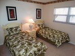 #66 has two TWIN Beds in the 2nd Bedroom, and is Bright and Cheery!