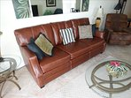 All LEATHER Furniture adds to the LUXURY in this unit!