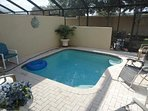 Large Private Pool and FULL PRIVACY to the Rear!